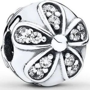 PANDORA Clip Dazzling Daisies Sterling